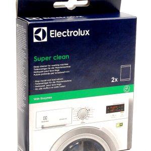 ΚΑΘΑΡΙΣΤΙΚΟ ΠΛΥΝΤΗΡΙΟΥ ΡΟΥΧΩΝ ELECTROLUX SUPER CLEAN KIT (2 ΤΕΜΑΧΙΑ ΣΕΤ) E6WMI102